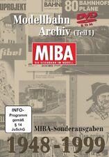 MIBA-Sonderausgaben 1948-1999 Modellbahn-Archiv - Teil 1