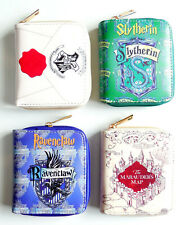 Zip Around Harry Potter Bifold Wallet purse 6 card slots 9 Styles Money coins