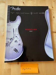 Fender Frontline - 2001 - Guitar Bass Amplifier catalog - Very good condition