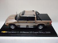 CHEVROLET S-10 DE LUXE 2.5 CABINE DUPLA 2009 #13 BRASIL SALVAT 1/43