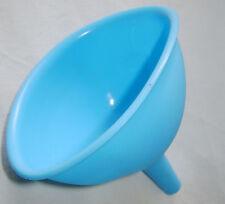 Nuevo silicona Embudo Flexible fácil almacenamiento de calor resistente Azul RSW