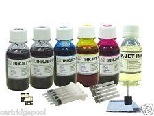 6X100ML Refill ink kit for Kodak 10 cartriidge Hero 6.1 7.1 9.1 printer+ 2 Chip