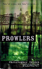 Christopher Golden PROWLERS Signed First Printing