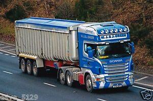 Truck Photo: WJ & J Green - Scania R560 - SV10 BCK - Haulage SCOTLAND Corskie