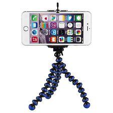 Yemota Pro Stativ iPhone 5 5S 6 Ständer Halterung Tripod Kamera Foto Handy Blau