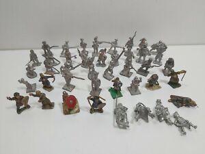 Joblot Bundle of 41 Metal  soldiers Lead