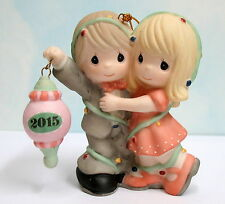 2015 Precious Moments Dated Our First Christmas Together Ornament 151004 ~ Nib