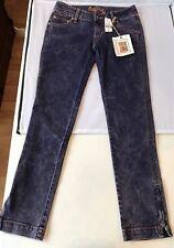 New LF STORE Jeans CAR MAR Purple Skinny Acid Wash Women's 24