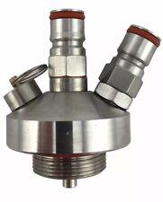 Stainless Steel Mini Keg Tap Dispenser for Craft Beer  Homebrew Spear Free Oring