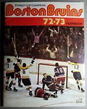 1972-73 BOSTON BRUINS Yearbook BOBBY ORR PHIL ESPOSITO HODGE-FREE USA SHIPPING!
