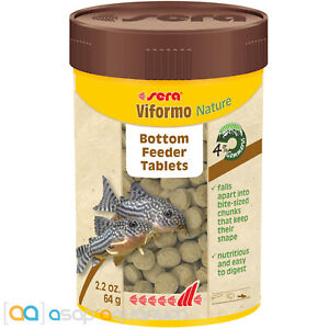 sera Viformo Nature 100mL Bottom Feeder Tablets Sinking Freshwater Fish Food
