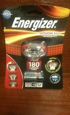 Energizer® Vision HD LED Headlight Hands Free Headtorch 180 Lumens