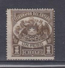 Chile Briefmarken 1891 Telegrafenmarken Mi 4 ungestempelt
