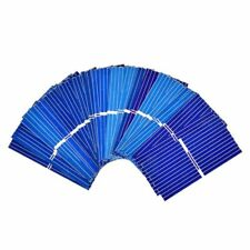Solar Panel Cells DIY Polycrystalline Photovoltaic Battery Charger 100Pcs