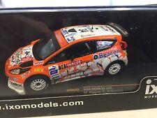 Ford Fiesta RS WRC 1/43 Grande Bretagne 2013 M.higgins IXO