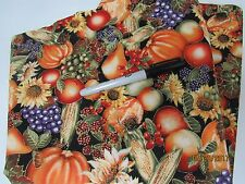 """THANKSGIVING HARVEST COTTON FABRIC 44"""" wiDE X 16"""""""