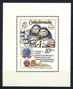 187144) Tschechoslowakei Block 39IA** Raumfahrt
