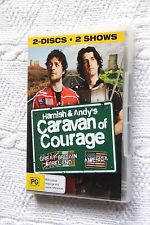 Hamish And Andy's Caravan Of Courage(DVD, 2-Disc) R- 2,4, Free post in australia