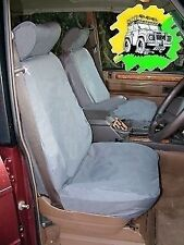 Range Rover Classic 4 Door Waterproof Front Seat Covers in Grey DA2803GREY