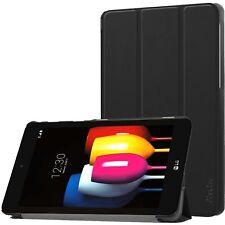 LG G Pad F2 8.0 Sprint Case Ultra Slim Stand Hard Shell Leather Lightweight New