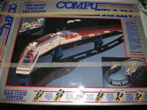 Vintage 1987 Kawada COMPU TRAIN Bar Code System Train of the future EXC COND!