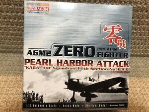 Dragon Wings 1:72 A6M2 Zero, Kaga 1st Sq Lt Shiga, Pearl Harbor 1941, No. 50021