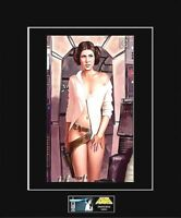 """STAR WARS 8""""x10"""" Photo of a Provocative PRINCESS LEIA in MF-11"""" x 14"""" Matted"""
