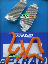 Aluminum radiator+silicone hose KTM 250/300/380 SX/EXC/MXC 1998-2003 99 01 2002