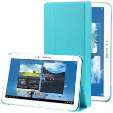 Carcasas, cubiertas y fundas azul piel sintética para tablets e eBooks Samsung