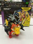 Transformers Vintage Hasbro 1986 Decepticon Razorclaw Predacon Leader Predaking