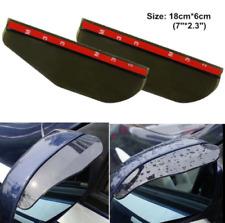 2pcs Car Rear View Side Mirror Rain Boards Sun Visor Shade Shields Universal