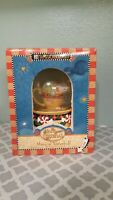 "Mary Engelbreit Wish You a Merry Christmas Musical Snow Globe 6"" Tall Mouse Cup"