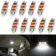 10X 39mm 4014 12SMD C5W LED Canbus Festoon Dome Lamp Car License Plate Light