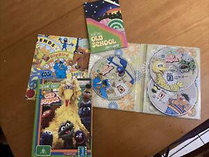 Sesame Street - Old School : Vol 1 (DVD, 2008, 3-Disc Set)