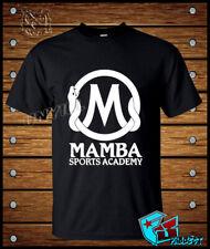 MAMBA Sports Academy Logo T-Shirt Men's Clothing Short Sleave Size S-3XL