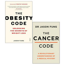 The Obesity Code, The Cancer Code 2 Books Collection Set by Dr Jason Fung NEW