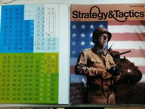 strategy tactics(s&t) number 112, complete with game,counters unpunched