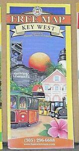2004 Promotional Map of Key West, Florida