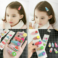 1/5Pcs Cute Baby Kids Girls Fruit Hair Clip Hairpin Barrette Hair Accessories