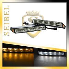 LED Tagfahrlicht Set E4 R87 Prüfzeichen Blinker Funktion 5 POWER LEDs für Ford