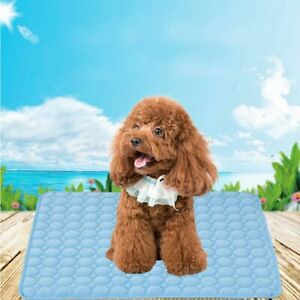 Pet Dog Cat Cooling Pads Summer Sleeping Mat Breathable Sleep Cushions Bed 1PC