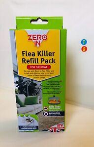 Zero In Flea Killer Refill Pack-2 Bulbs & 3 Discs Replacements Electronic Unit