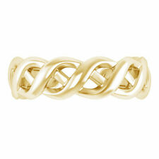 Adjustable Fashion Toe Ring 10K Yellow Gold Over Women's