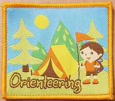 Orienteering Scout Girlguides camp camping blanket badge patch patches badges