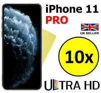 10x ULTRA HD CLEAR SCREEN PROTECTOR COVER GUARD FILMS FOR APPLE IPHONE 11 PRO