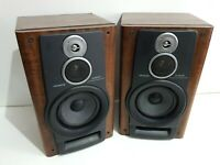 Aiwa SX-NAVH9 3 Way Bass Hifi Speakers 6 Ohm
