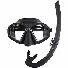 Ocean Hunter Phantom Mask & Snorkel Set (Black)