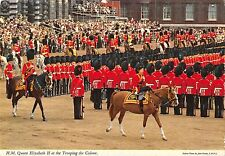 BR90620 queen elizabeth II royalty trooping the colour miliary militaria  uk