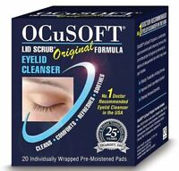 Ocusoft Original Lid Scrub Blepharitis Wipes (x20)