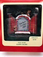 Heirloom Carlton Ornament New Home Happy Home 1989 058110-0